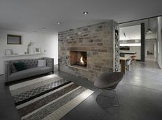 Parete in pietra e mattoni on Pinterest  Bricks, Stone ...