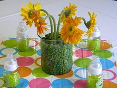 Sweet Pea Baby Shower Centerpiece Ideas  http://www.bigdotofhappiness.com/swpeapasubas1.html