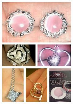 Jewelry in Candles Review!  Necklace, Earrings or Ring Inside Every Scented Soy Candle!