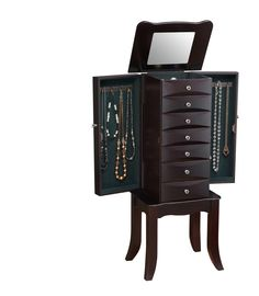 Teresa Jewelry Armoire with Mirror