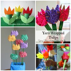 tulip crafts for kids