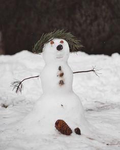 Snowman, Instagram, Outdoor Decor, Home Decor, Funny Photos, Snow, Homemade Home Decor, Interior Design, Snowmen