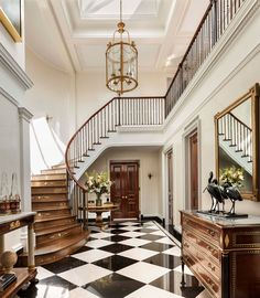 John B. Murray Architect - Staircase and Entry