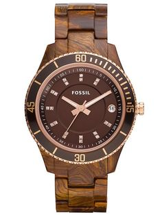 Wooden watch! Want one...going on my wish list immediately!