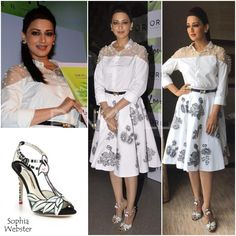 Yay or Nay : Sonali Bendre in Frou Frou and Sophia Webster | PINKVILLA