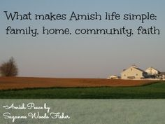 Amish life - great books to read to learn more about how the Amish live and follow God's word.