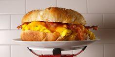 Cooking Giant Breakfast Sandwich Video — Giant Breakfast Sandwich Recipe How To Video