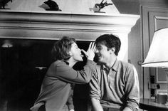 Romy Schneider et Alain Delon Romy Schneider, Love Couple, Best Couple, Couple Goals, Alain Delon, Vintage Couples, Vintage Love, Vintage Romance, Beaux Couples