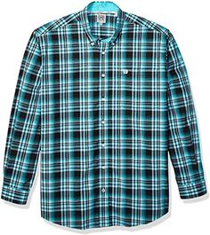 X-Future Mens Shirts Casual Hoodie Long Sleeve Button Up Plaid Shirts