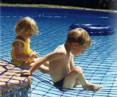 swimming pool net. i love the idea, but it just scares me to trust it...
