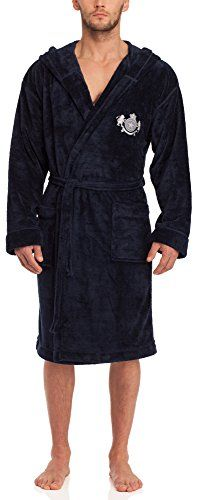 Men's Fashion Timone Mens Bathrobe Jerry Dark Blue L *** Continue to the product at the image link.
