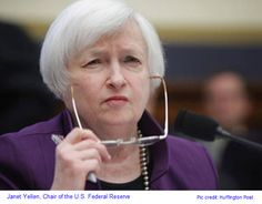 Federal Reserve and Janet Yellen: Economy Didn't Grow in Quarter - Fortune Janet Yellen, Interest Rates, All About Eyes, Wall Street, Stock Market, Thinking Of You, Finance, Investing, Bring It On