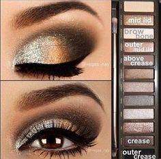 I really like brown eyeshadows, they bring out almost every single eye color.