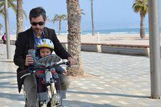 Me lo paso genial con super papá en bici