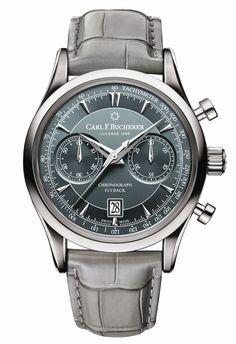 TimeZone : Industry News » Basel 2017 - Carl F. Bucherer Manero Flyback Chronograph
