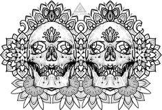 My design. Есть желающие на мой эскиз сделаю скидку желательное место нанесения грудьбедро. Два черепа соединил для красотыпоэтому все инфо в лс либо директ #ornamental #ornamentaltattoo #ornamentalika #mandala #skull #lineworktattoo #dotworktattoo #dotworkers #graphic #geometry #geometrychaos #volgograd #vlg #vlg_vlg  #tattoovolgograd #vlz #tattoovlg #tats #t2 #tat2 by valera_ronenko