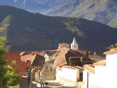 El pequeño pueblo de Los Nevados, Mérida