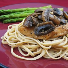"Chicken Breasts with Balsamic Vinegar and Garlic | ""This is a quick, easy and impressive gourmet dish. Goes great with roasted new potatoes."""