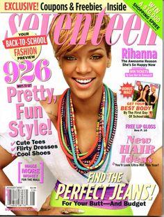 Rihanna Seventeen August 2010 Cover
