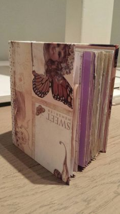 Buy this cute vintage handmade journal in my Etsy store.