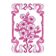 Spring Bloom 3 - 5x7 | What's New | Machine Embroidery Designs | SWAKembroidery.com Starbird Stock Designs