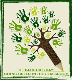 Find out how to go green in your classroom for St. Patrick's Day! #sustainability #ecofriendly