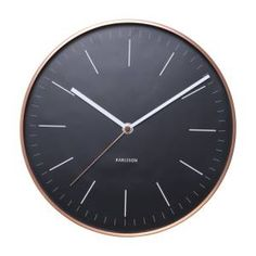 Klok minimal black koper https://www.gigameubel.nl/c/q:klokken