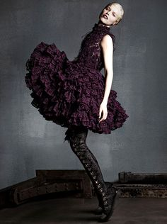 Eva Herzigova by Luigi + Iango for Vogue Japan September 2014
