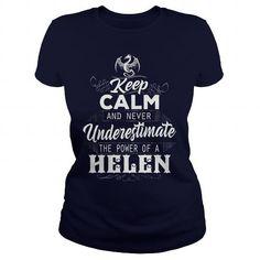 HELEN, HELEN T Shirt, HELEN Tee