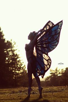 dancing in nature silhouette Burlesque Photography, Boudoir Photography, Photography 101, Boudoir Photos, Boho Gypsy, Gypsy Soul, Belly Dancers, Butterfly Wings, Aesthetic Photo