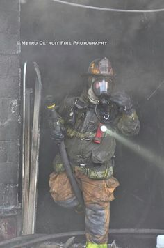 #Firefighter #Detroit ~ Re-Pinned by Crossed Irons Fitness