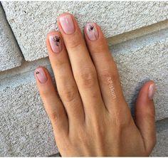 Visit Us : www. Nude Nails, Manicure And Pedicure, Acrylic Nails, Uñas Diy, Natural Gel Nails, Watermelon Nails, Uñas Fashion, Nails 2017, Modern Nails