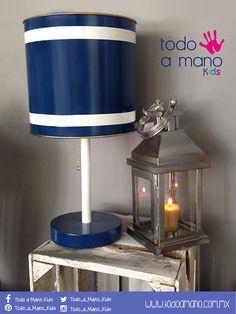 Ideal en azul para la habitación de tu peque.