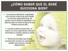 Succión del bebé