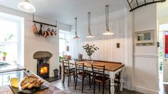 The Cuttlefish is perfect for long lunches and scrummy suppers snuggled in by the wood burner in the kitchen.
