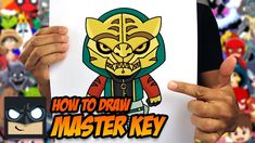 How to draw Master Key from Fortnite in this easy step-by-step drawing tutorial. If you enjoyed this video then check out the link below with more drawing tu. Batman Drawing, Goku Drawing, Easy Cartoon Drawings, Easy Drawings, How To Draw Avengers, Cartooning 4 Kids, Drawing School, Drawing Course, Beginner Art