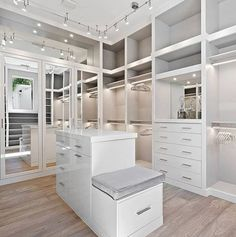 Fantastic Master bedroom closet remodel ideas,Remodeling bedroom closets and Attic bedroom remodel bathroom. Master Closet Design, Walk In Closet Design, Master Bedroom Closet, Closet Designs, Bathroom Closet, Ikea Closet, Girls Bedroom, Closet Bench, Closet Rooms