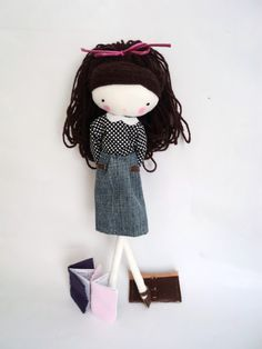 Ana sandals: back to school......(aaaawwww....i love this doll! she is so sweet!)......