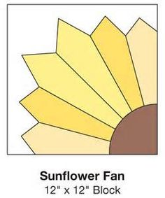 sunflower quilt block patterns - Bing Images