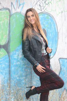 """""""A Cuadros"""" Outfit! Seemore details at www.bymedidri.com/2013/11/a-cuadros.html"""