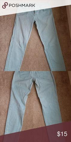 Core Denim Stretch Turquoise Jeans (worn once) Zara  Core Denim stretch jeans  Turquoise jeans Slim Eur 40 UUA 08 Mex 30 Zara Jeans Skinny