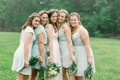 Chris and Rachel's Mint Green Rain Filled Wedding, by SMB Photography
