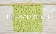 Stitch of the Week: Pyramid Stitch – Deramores