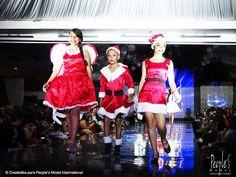 Desfile de #graduación de la promoción XXIII de modelos. Agencia People's Model International #Christmas #model #graduation #navidad #girls #modelo #Promo #XXIII #Peoples