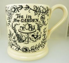 This beautiful Emma Bridgewater mug is from the Dairy range. It is first quality and is in excellent condition with no chips, cracks or pin holes. All items are very well packaged and sent Royal Mugs And Jugs, Emma Bridgewater Pottery, English Country Cottages, Fun Cup, China Mugs, Pottery Making, Marmalade, Tea Party, Tea Cups