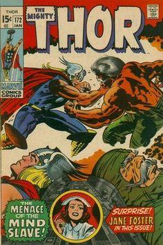 Thor 172. Por Jack Kirby, Bill Everett y Sam Rosen. #Thor #JackKirby