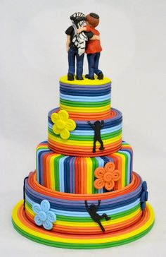 Cake for Children  Cake by ArtedellaTorta love this but I would leave the black images off