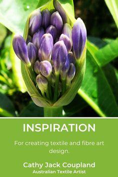 Nature offers endless beautiful inspiration for textile and fibreart designs. #textileart #fibreart #design #naturalinspiration #naturephotography Art Base, Textile Artists, Fiber Art, Nature Photography, Textiles, Plants, Photos, Inspiration, Beauty
