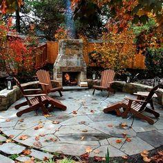 Back yard patio