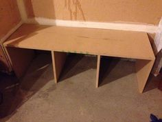 Add Easy Mudroom Cubbies with MDF Boards